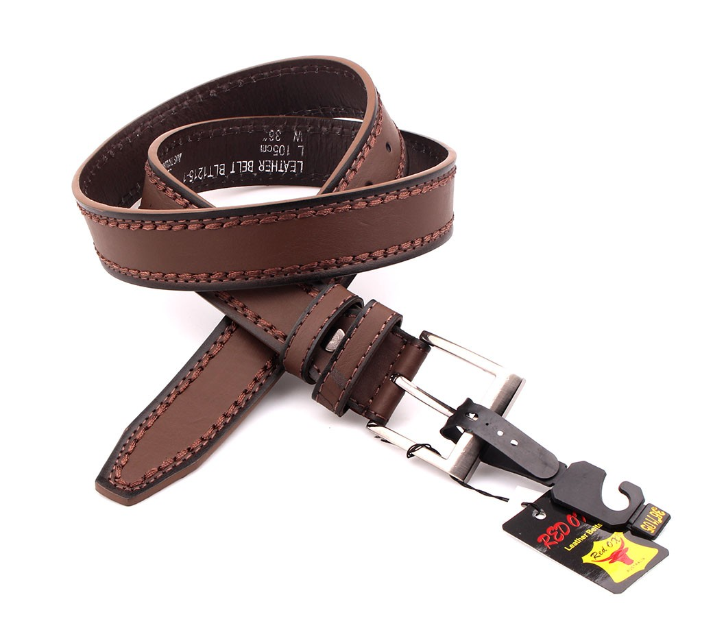 Bulk Buy Belts 3.5cm Brown BLT1215-2