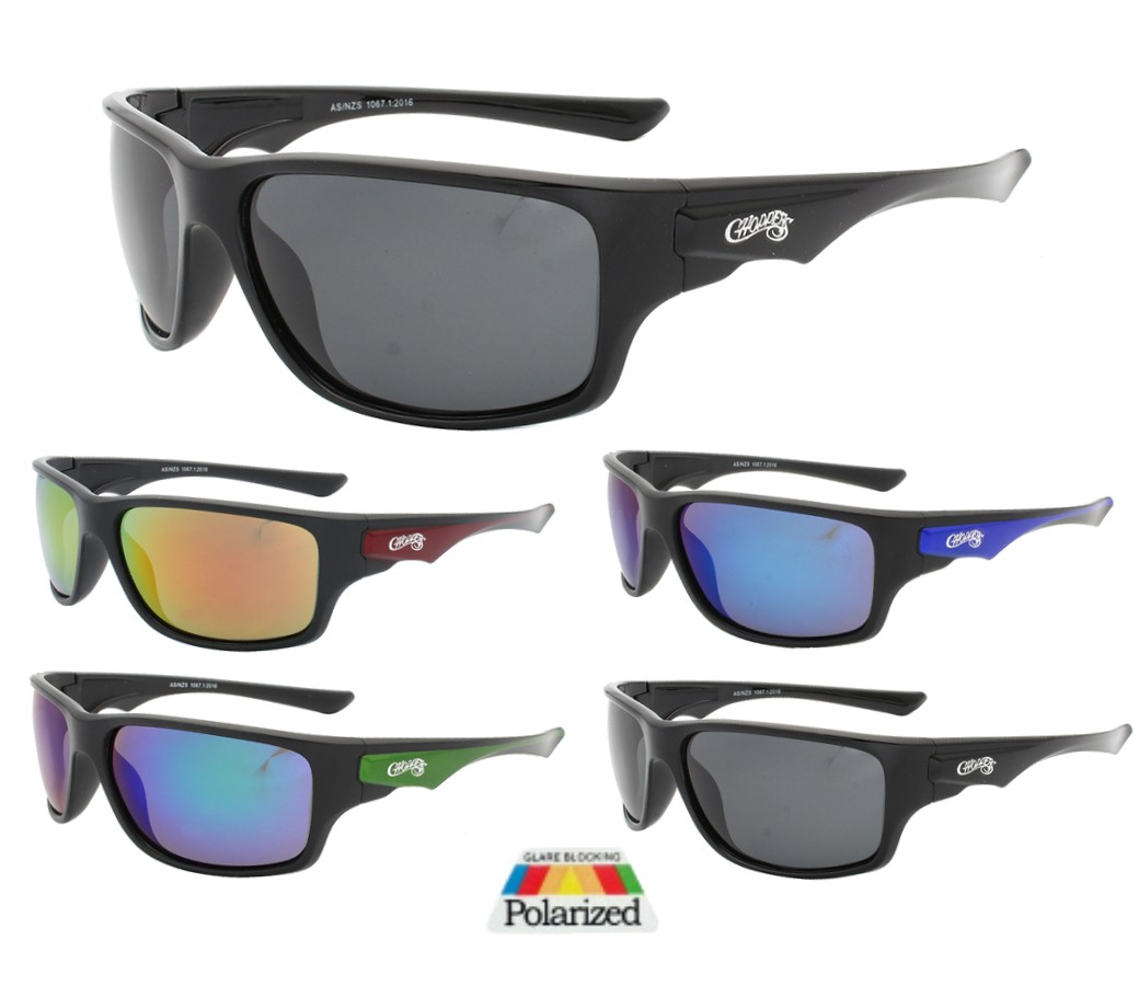 Choppers Tinted Lens Polarized Sunglasses CHOP406PP