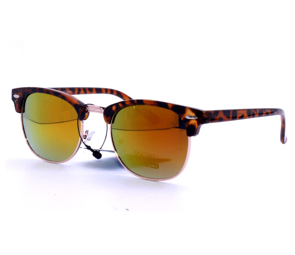 Designer Fashion Metal Tinted Lens Sunglasses FM2112-2