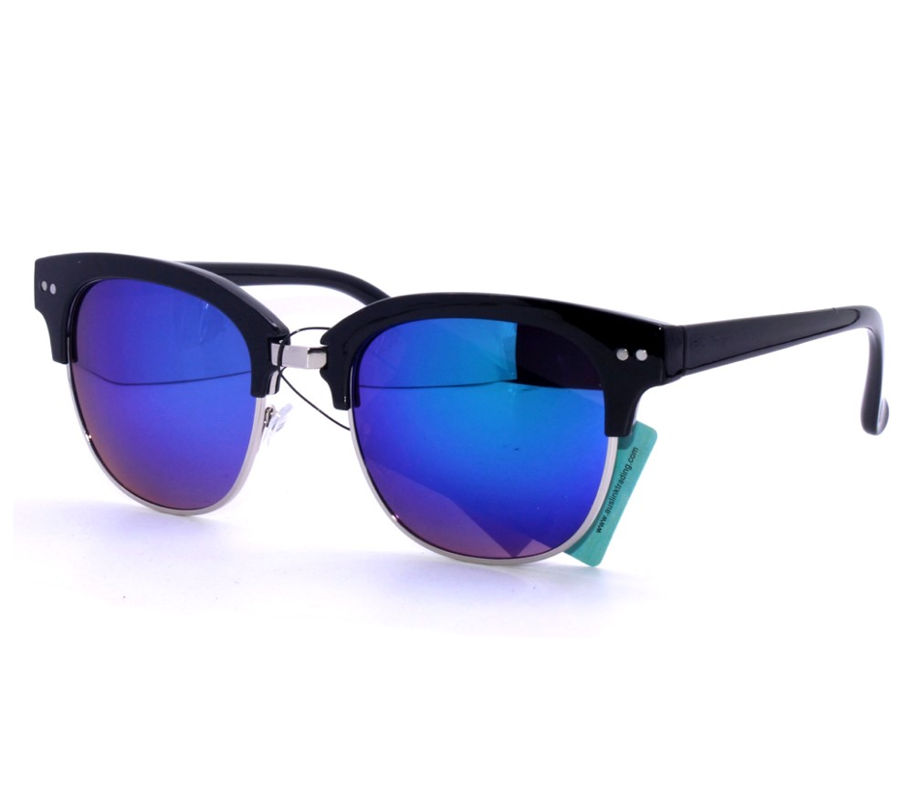 Designer Fashion Metal Tinted Lens Sunglasses FM2113-2