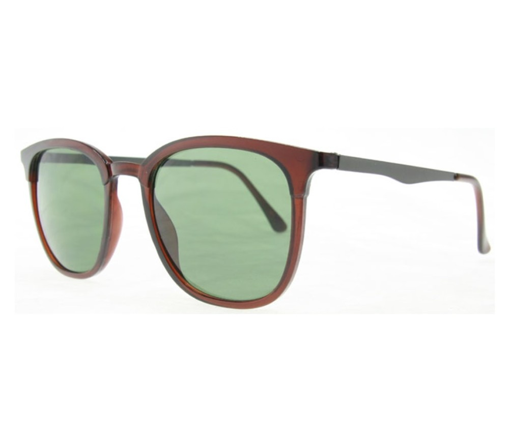 Designer Fashion Sunglasses The Byron Collections (Shinning Brown, G15 Lens) SU-4278-3