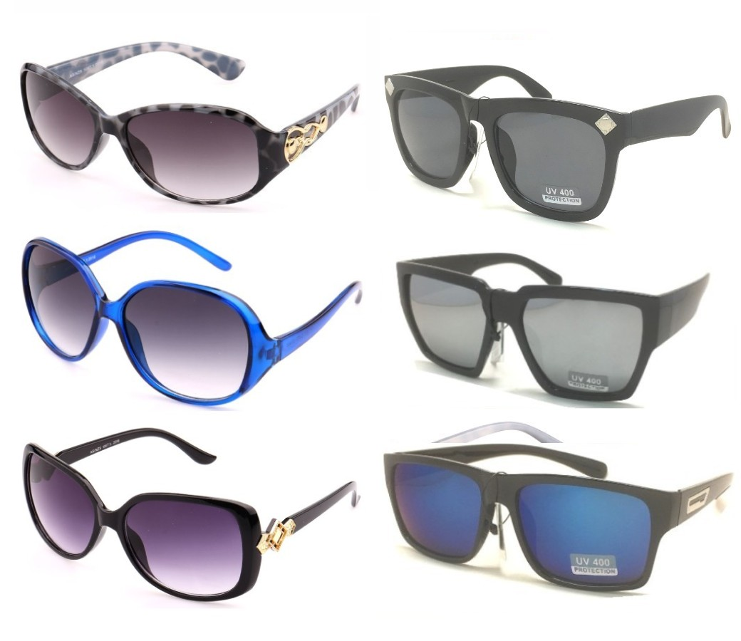 Fashion Plastic Sunglasses Sample Pack