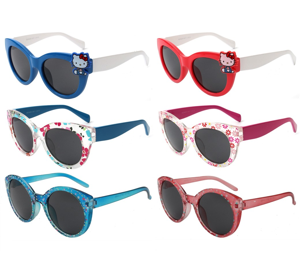 Koala Collection Kids Fashion Girls Sunglasses 3 Style Asst. KF7098/99/100