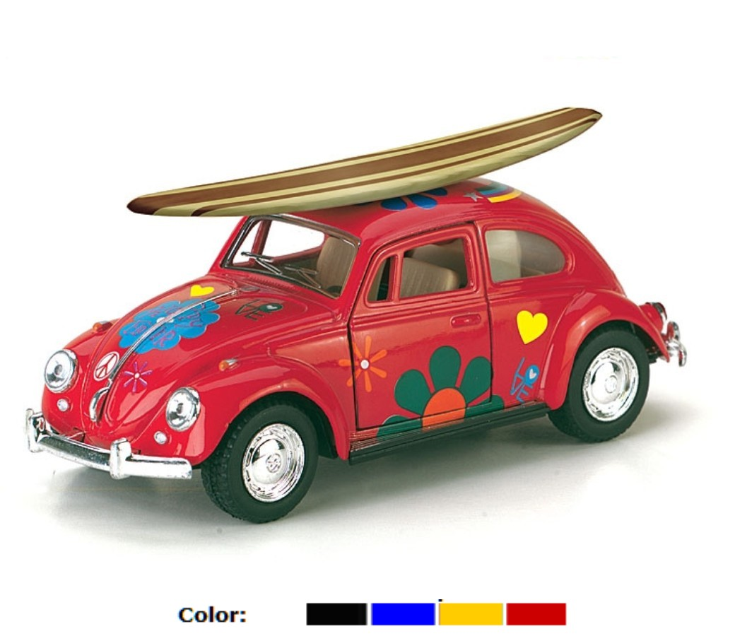 1:32 1967 VW Classical Beetle With Printing & Wooden