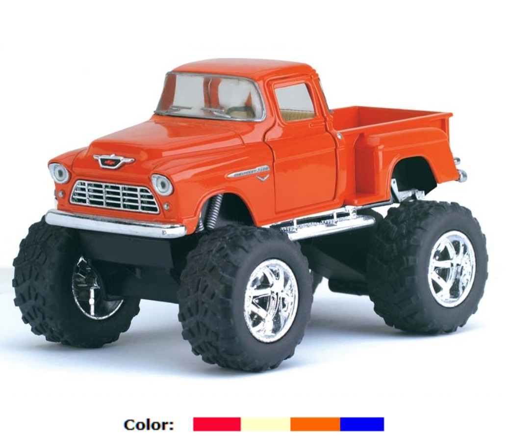 Chevy Stepside Pick-up (Off Road) 1955 1:32 (5