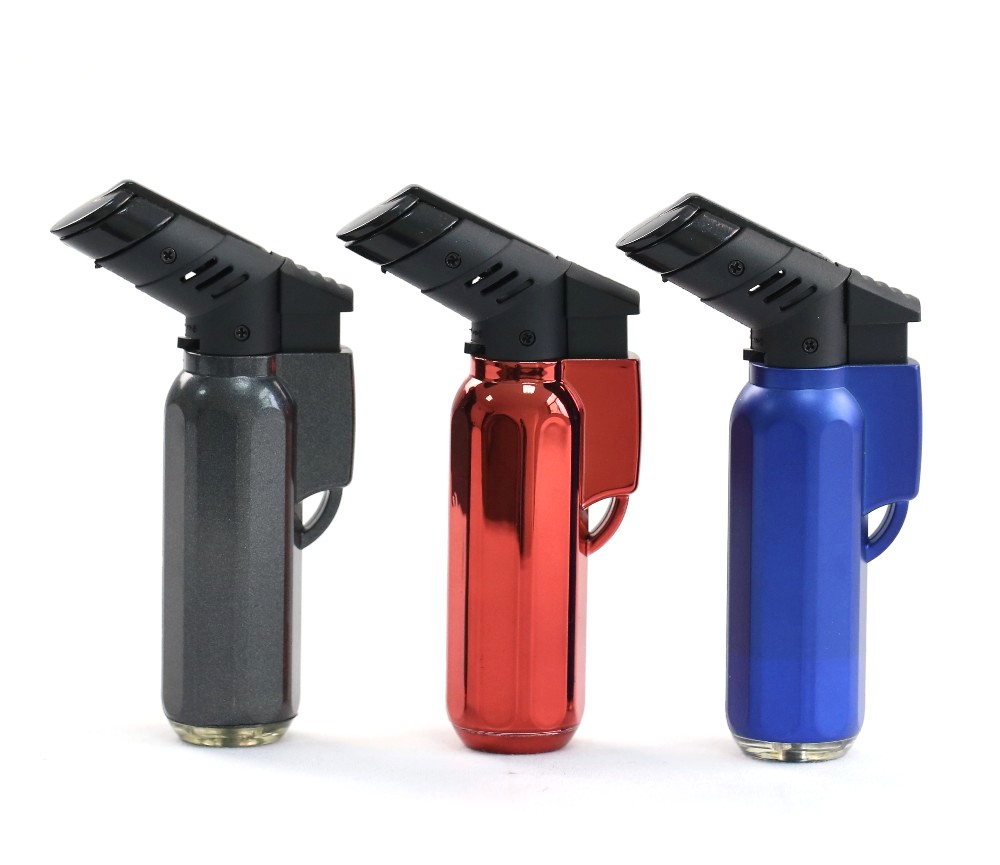 Windproof Electronic Refillable Torch/Jet Lighter (RF-2284-Jet-CR)