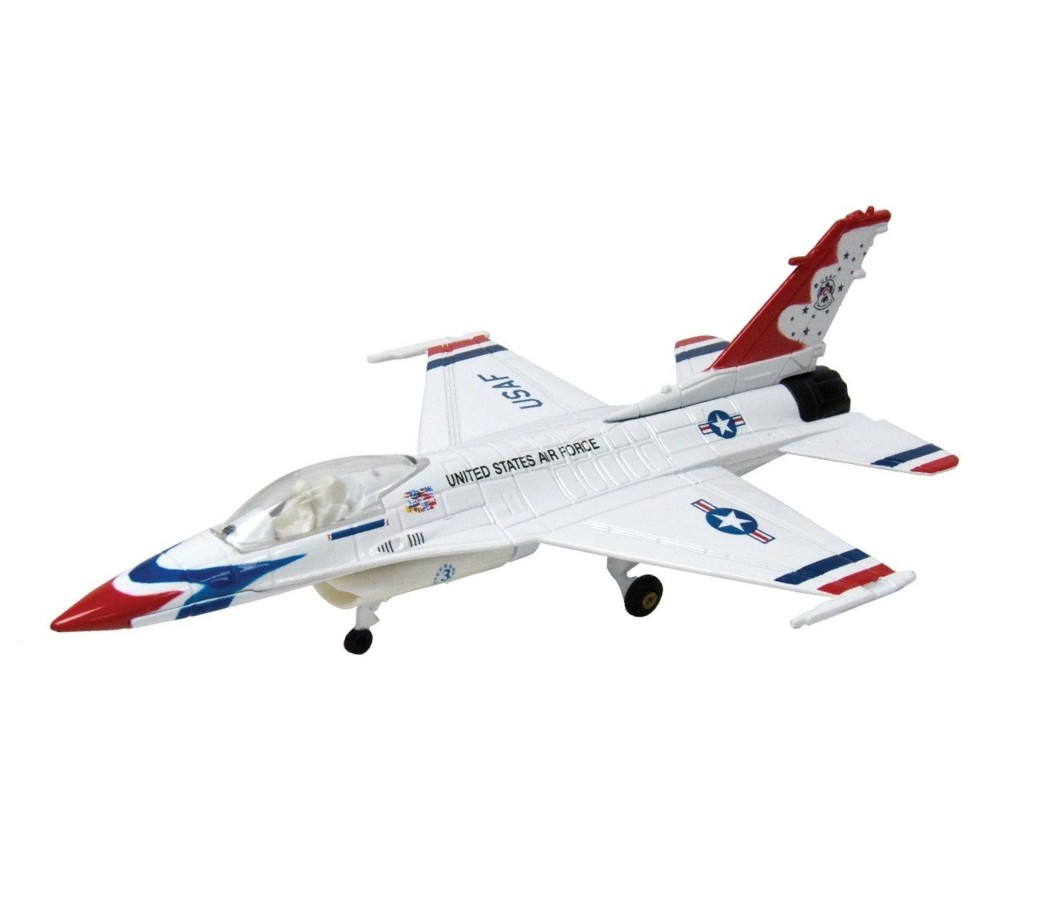 Lockheed Martin F-16 Fighting Falcon 1:72 (White) MM76357WH