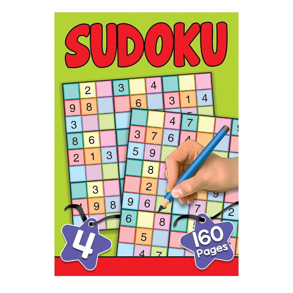 160 Pages Sudoku  Book 4 (MM00000)