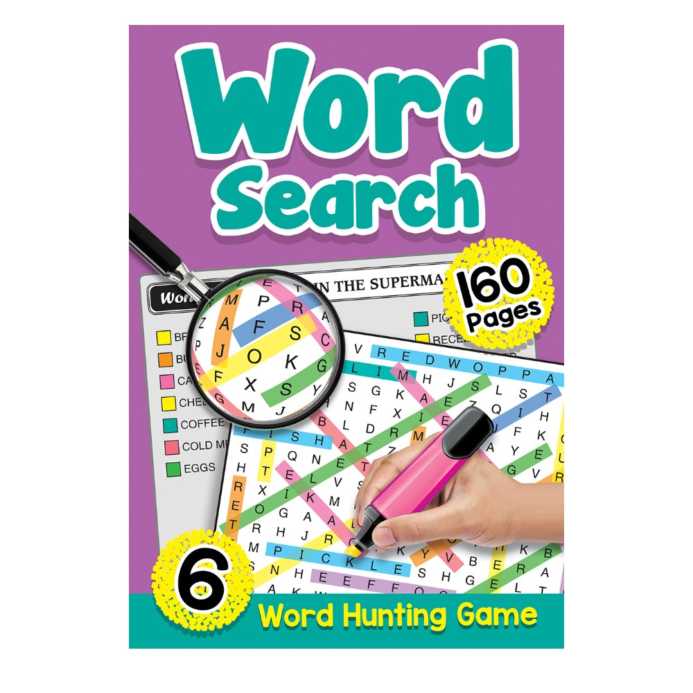 160 Pages Word Search Book 6 (MM00604)