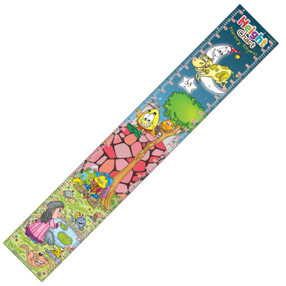 Height Chart Nursery Rhymes (MM00723)