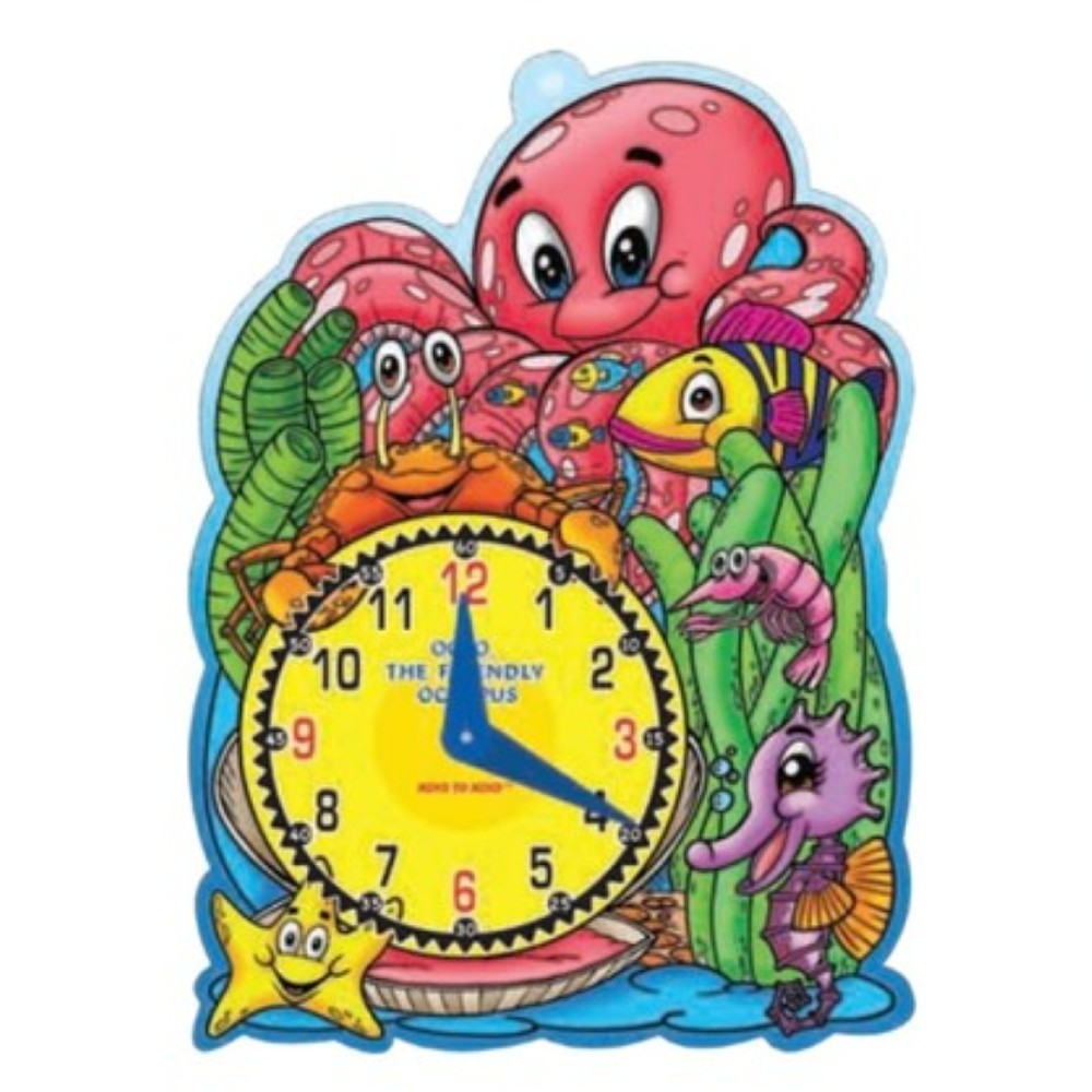 Let's Learn Time Octo, The Friendly Octopus (MM02161)