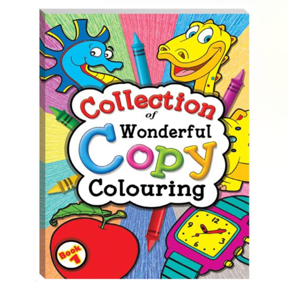 Collection of Wonderful Copy Colouring Book 1 (MM03207)