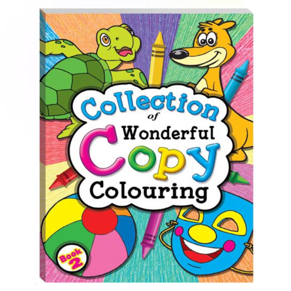Collection of Wonderful Copy Colouring Book 2 (MM03306)