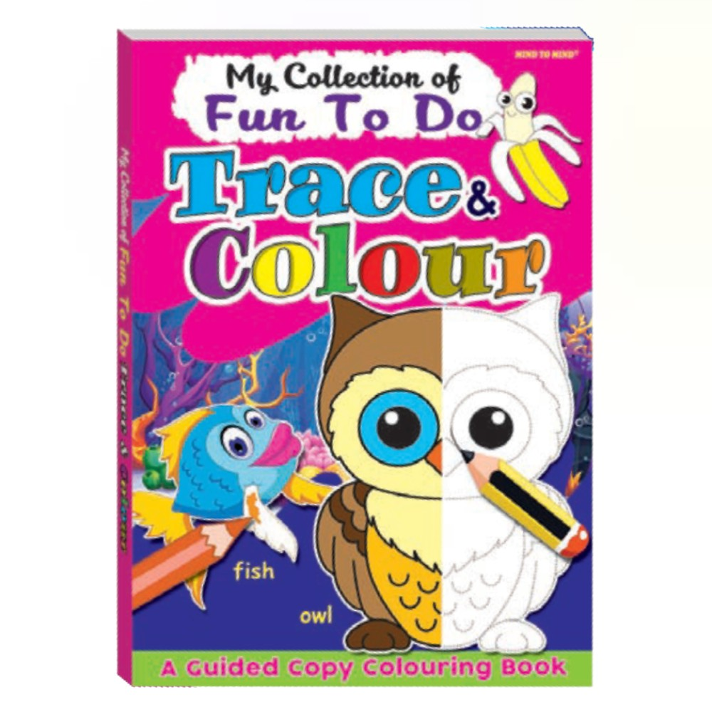 My Collection of Fun To Do Trace & Colour (MM03504)