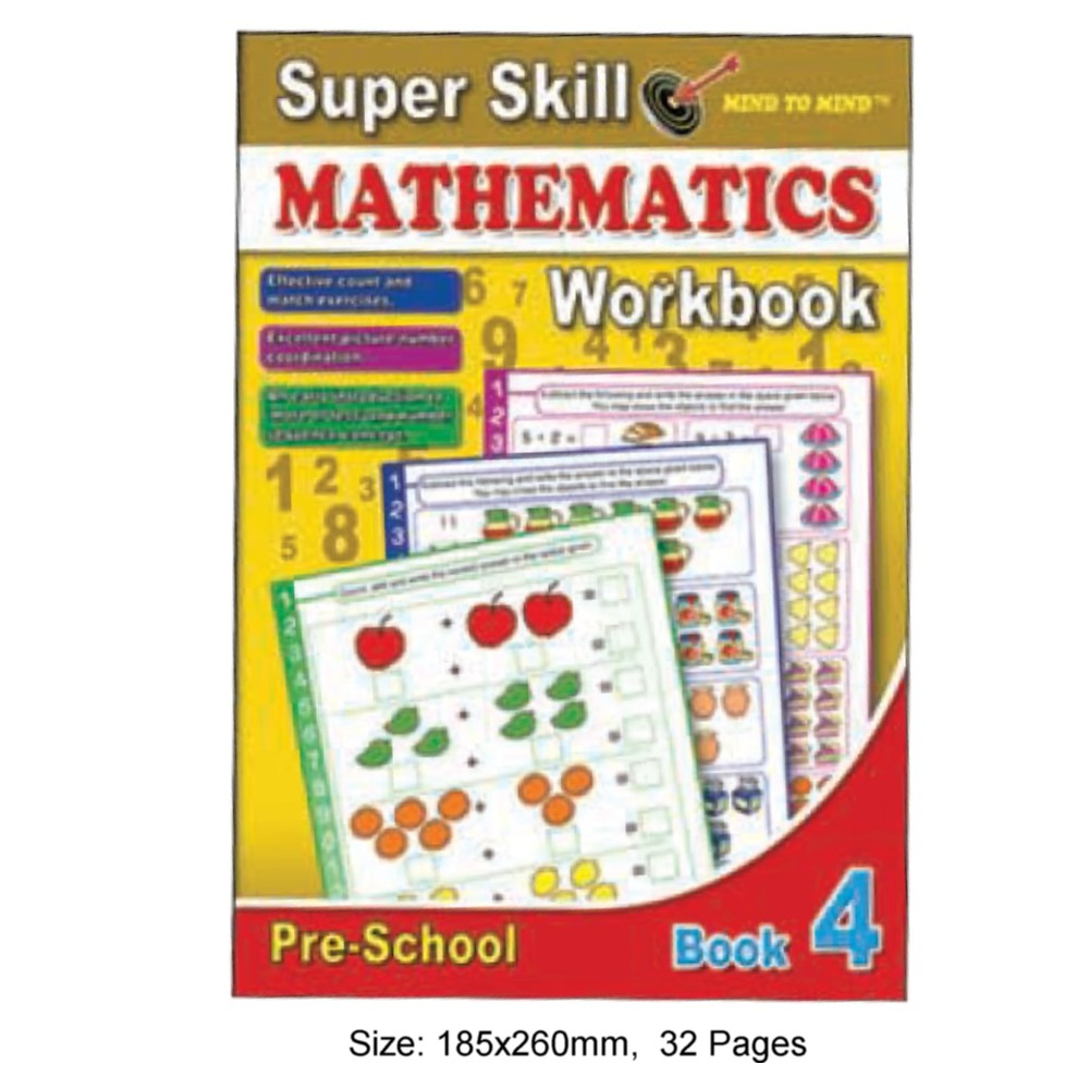 Super Skill Mathematics Workbook 4 (MM10562)
