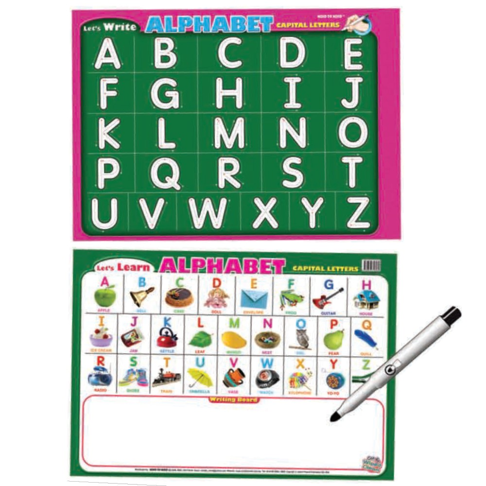 Writing Board ALPHABET Capital Letters (MM16069)