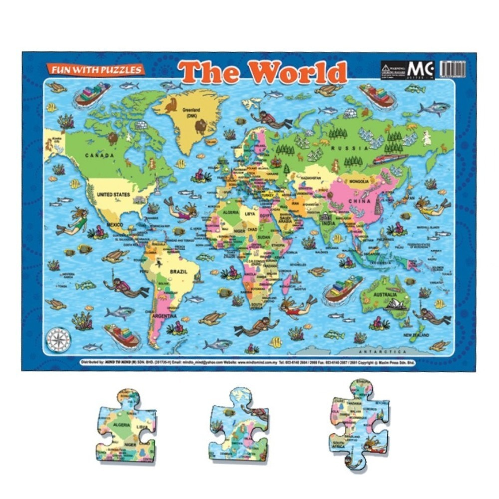 Fun With Puzzles The World (MM21139)