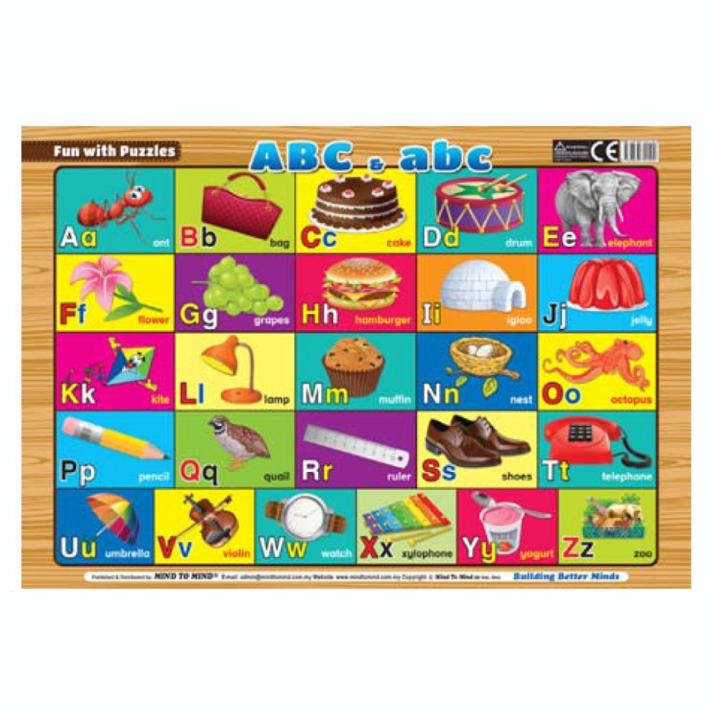 Fun With Puzzles ABC & abc (MM21504)