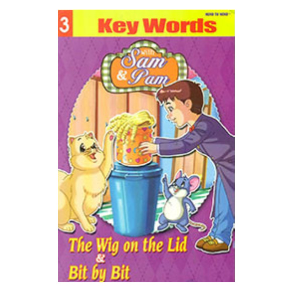 Sam and Pam Key Words Book 3 MM59508