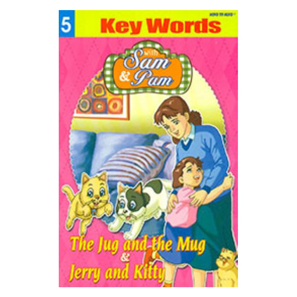 Sam and Pam Key Words Book 5 MM59522