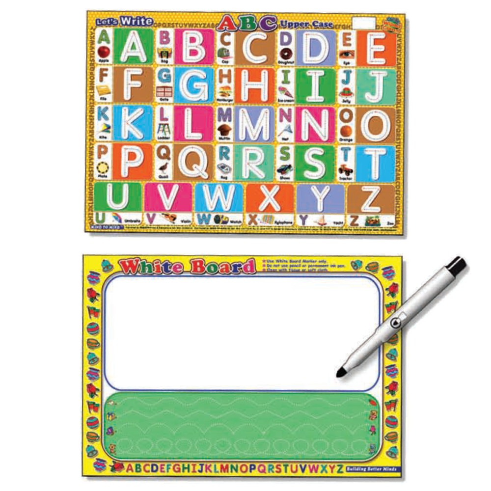 Writing Board Let's Write ABC Upper Case (MM60243)
