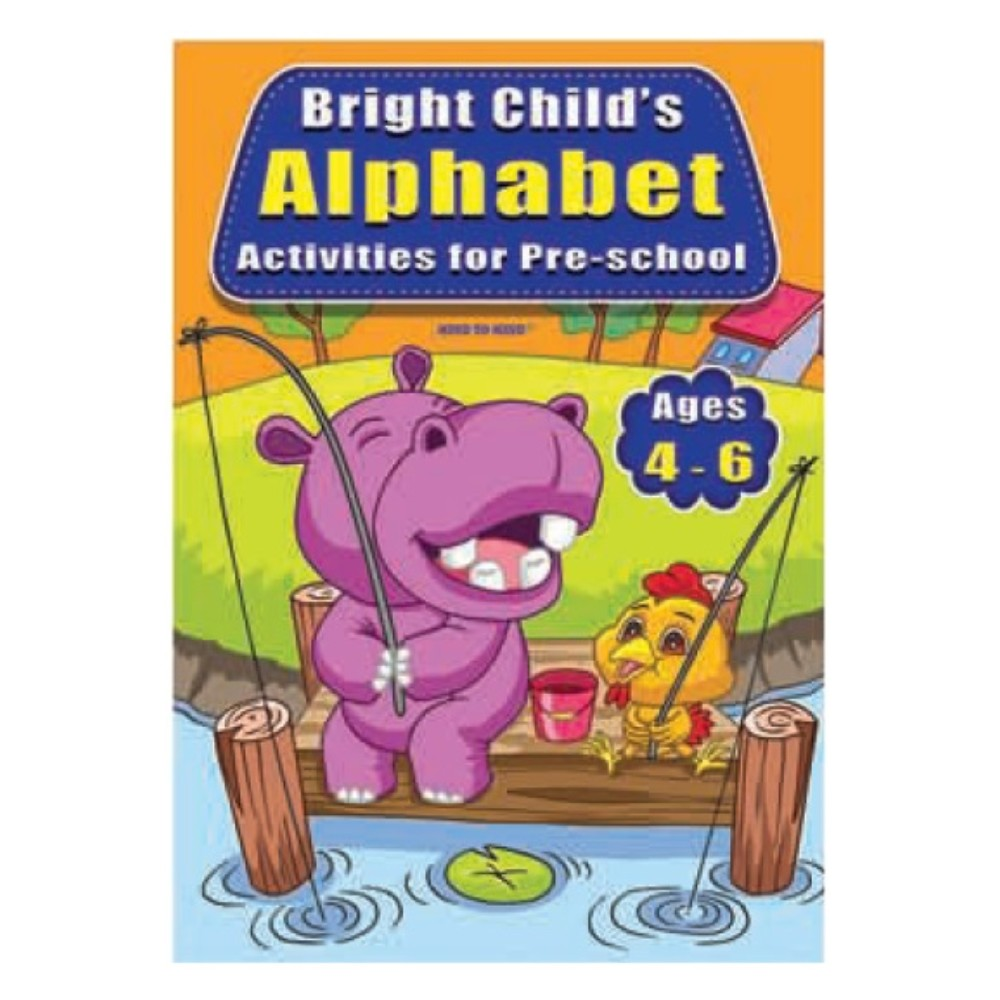 Bright Child's Alphabet Activities for Pre-school (MM71194)