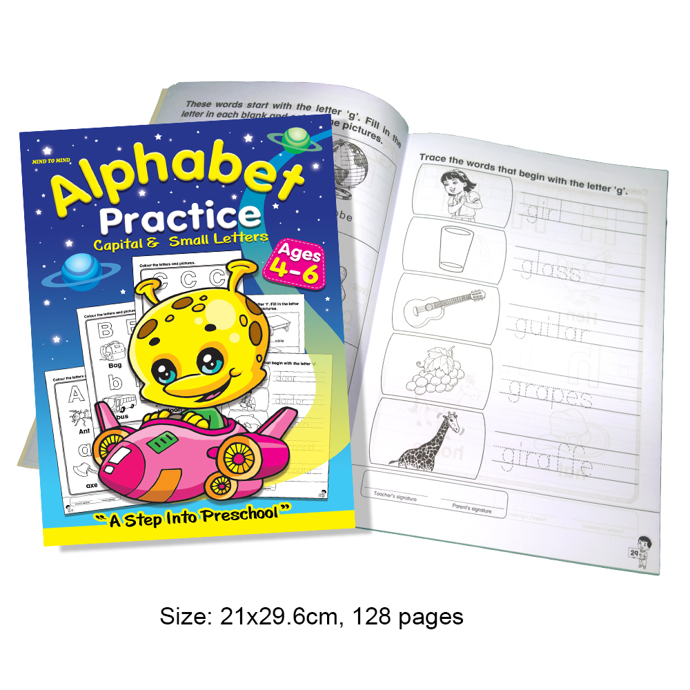 Alphabet Practice Capital & Small Letters (MM71255)