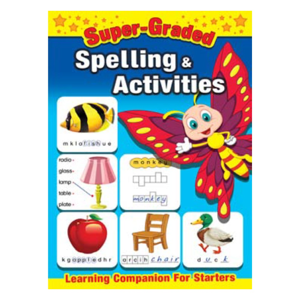 Super Graded Spelling & Activities (MM73518)