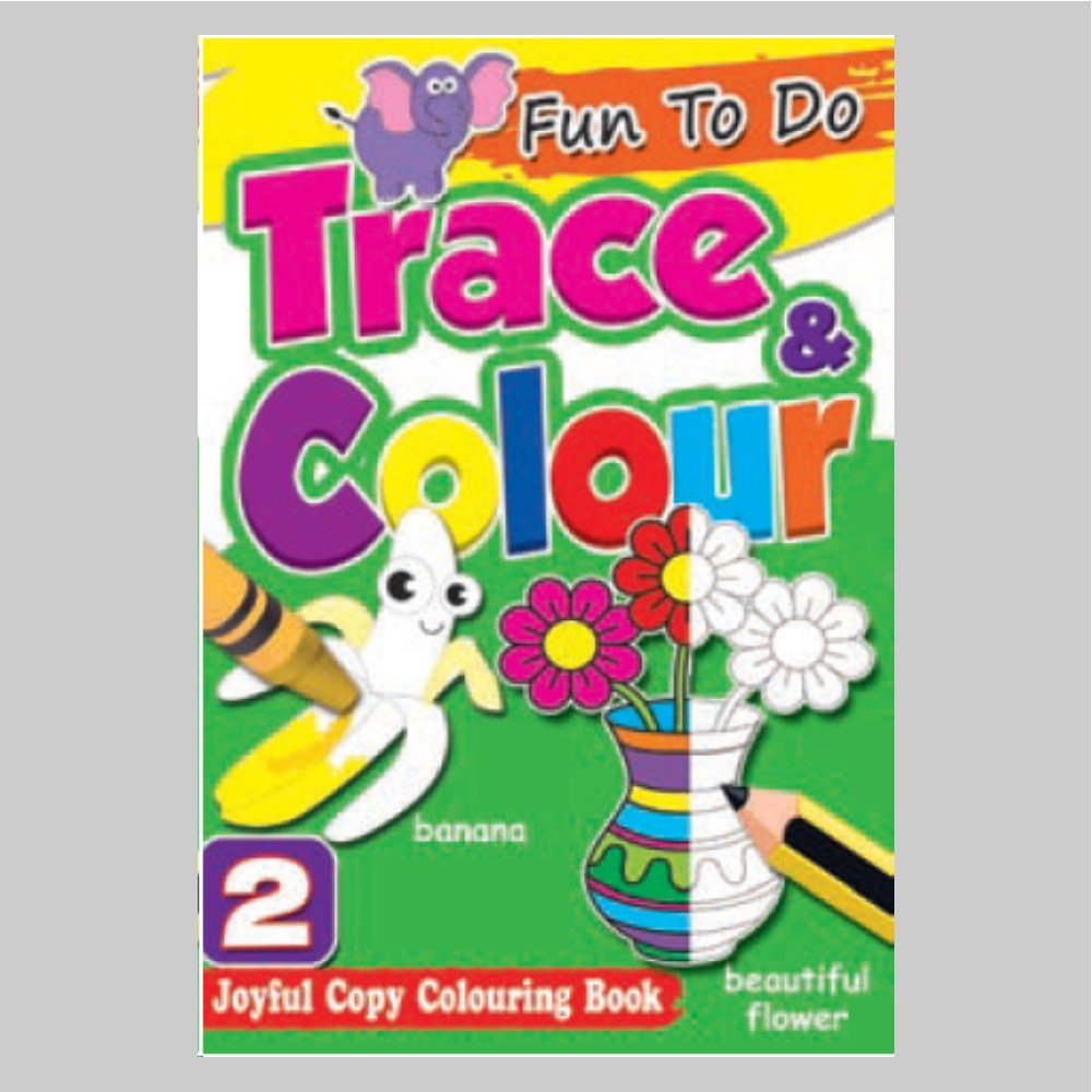 Fun To Do Trace & Colour Colouring Book 2 (MM74997)