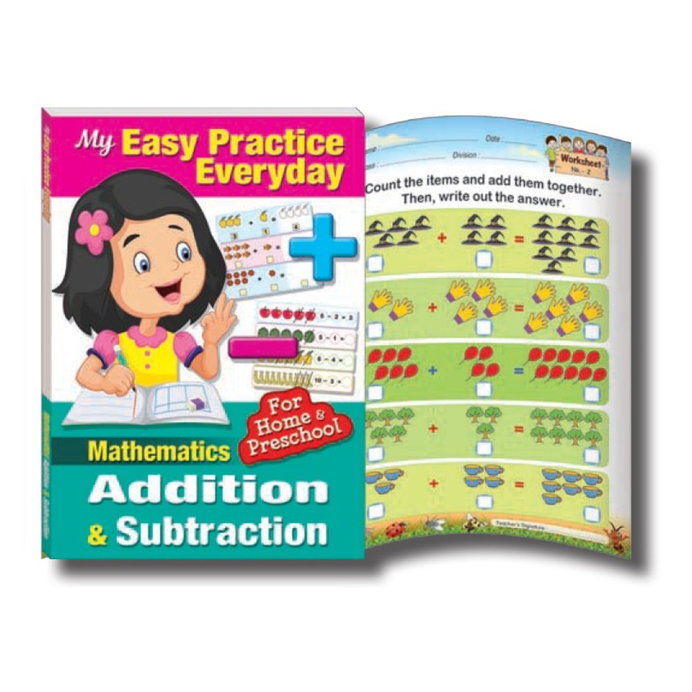 My Easy Practice Everyday Mathematics Addition & Sbtraction (MM75345)