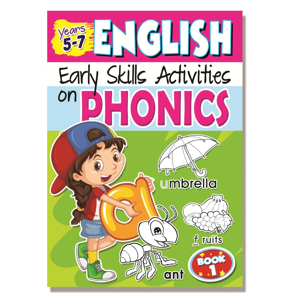 Early Skills on Phonics Book 1 (MM75574)