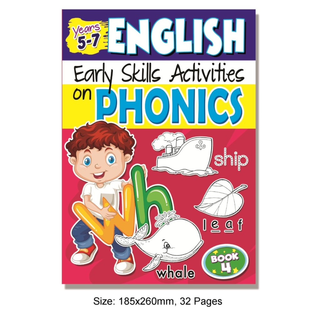 Early Skills on Phonics Book 4 (MM75604)