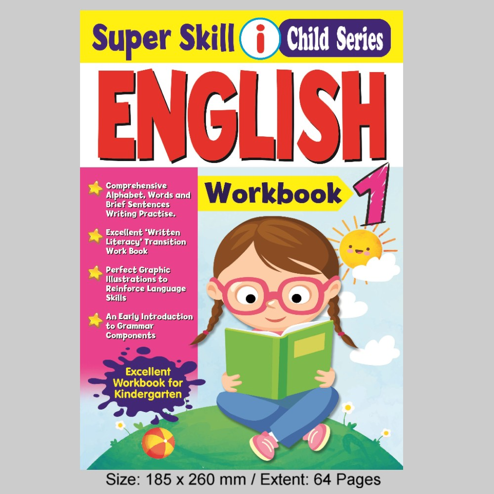 Super Skill i Child Series English Workbook 1 (MM77080)