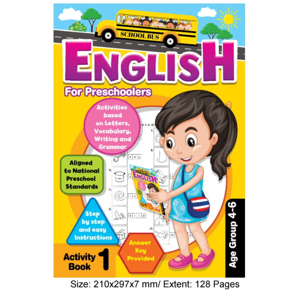 English for Preschoolers Activity Book 1 (MM77530)