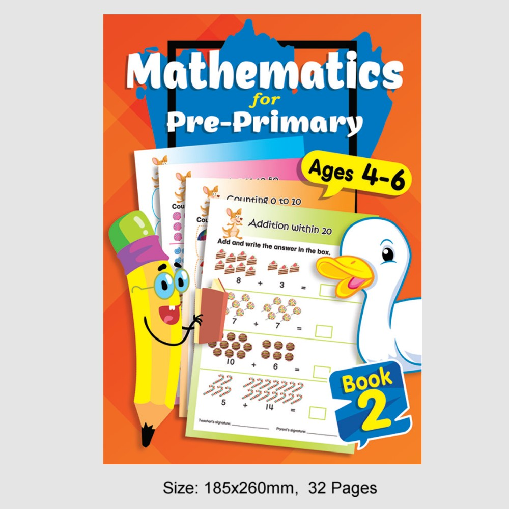 Mathematics for Pre-Primary Ages 4-6 Book 2 (MM79213)