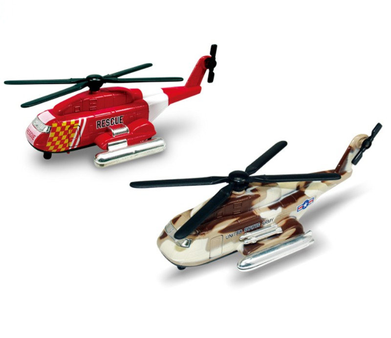 Dragon Fly Helicopter Diecast Models DC-601