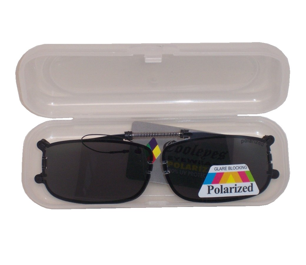 Clip on Polarized Sunglasses with Case PM6083