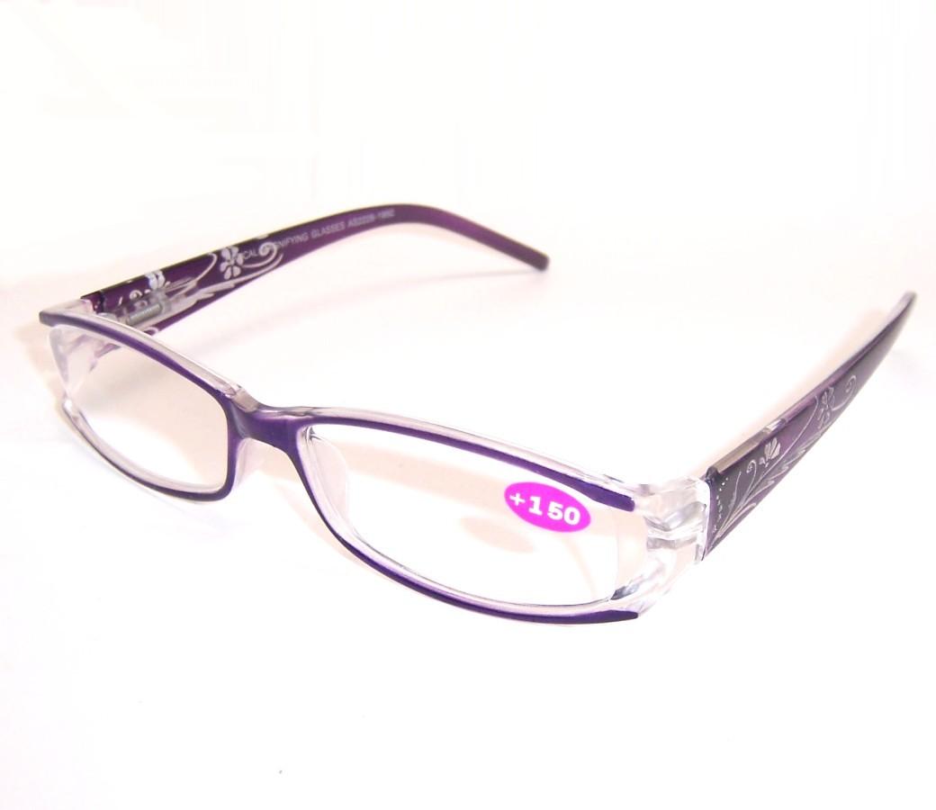 Plastic Framed Fashion Glasses : Fashion Reading Glasses Plastic Frame Spring Hinge R9069 ...