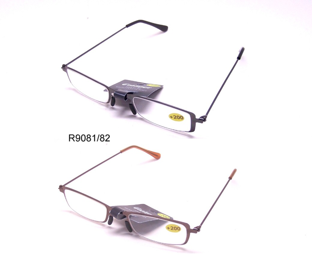 Fashion Reading Glasses Metal Frame (2 Style) R9081-R9082