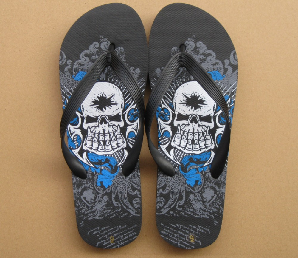 Beach Sandals Mens (Skull) SLP-M229