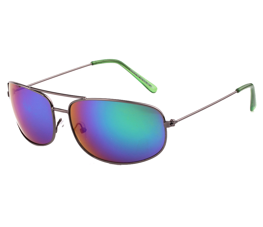 Sports Metal Reflection Mrror Lens Sunglasses SM4034