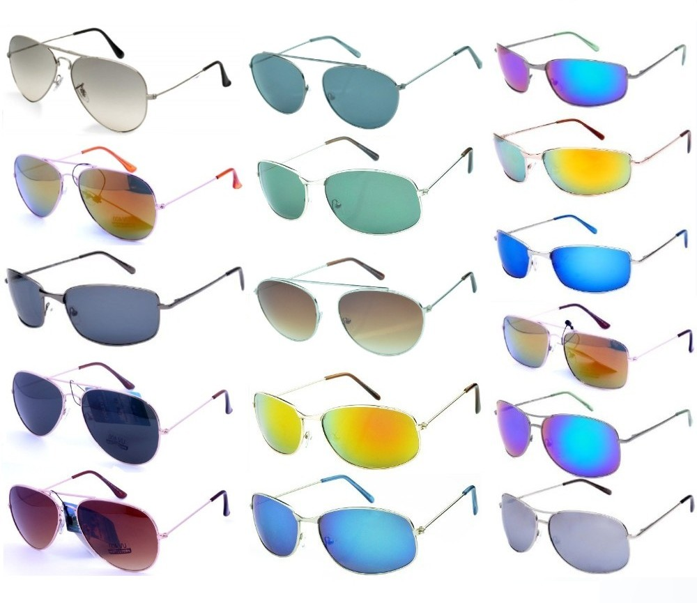 300 Pairs Bulk Buy Sports & Fashion Metal Sunglasses