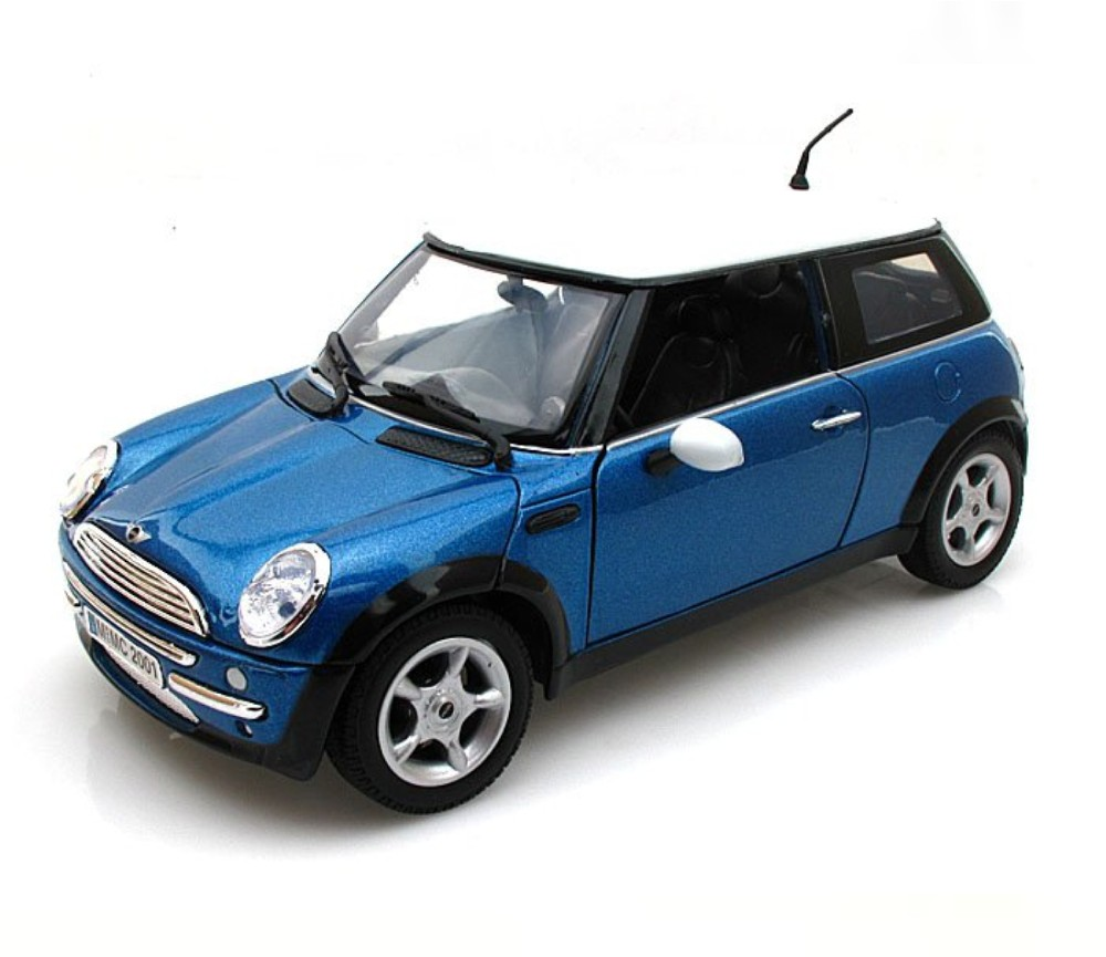1:18 Mini Cooper (Metallic Blue) MM73114BU