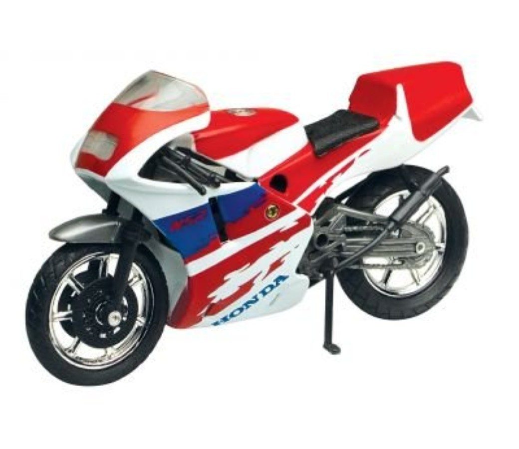 Honda NSR250 1:18 Die Cast Bike (Red) MMM417