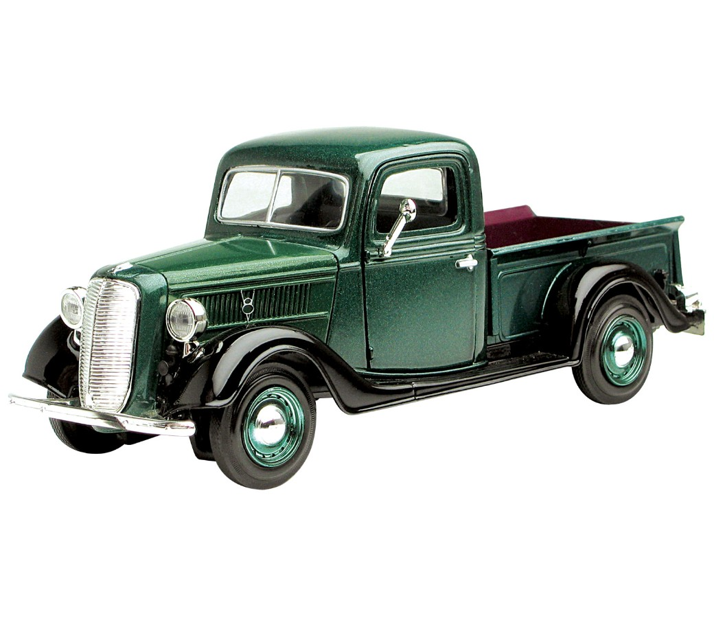 1:24 1937 Ford Pick Up (Metallic Green) MM73233GR