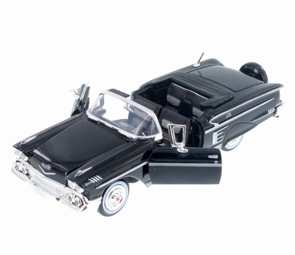 1:24 1958 Chevy Impala (Black) MM73267BK