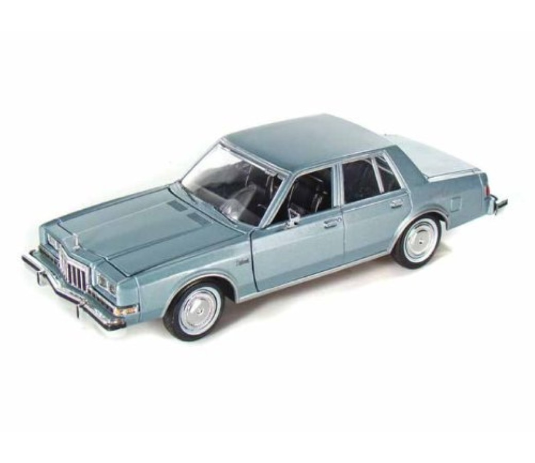 Dodge Diplomat Salon 1986 - 1:24 (Metallic Light Blue) MM73333MB