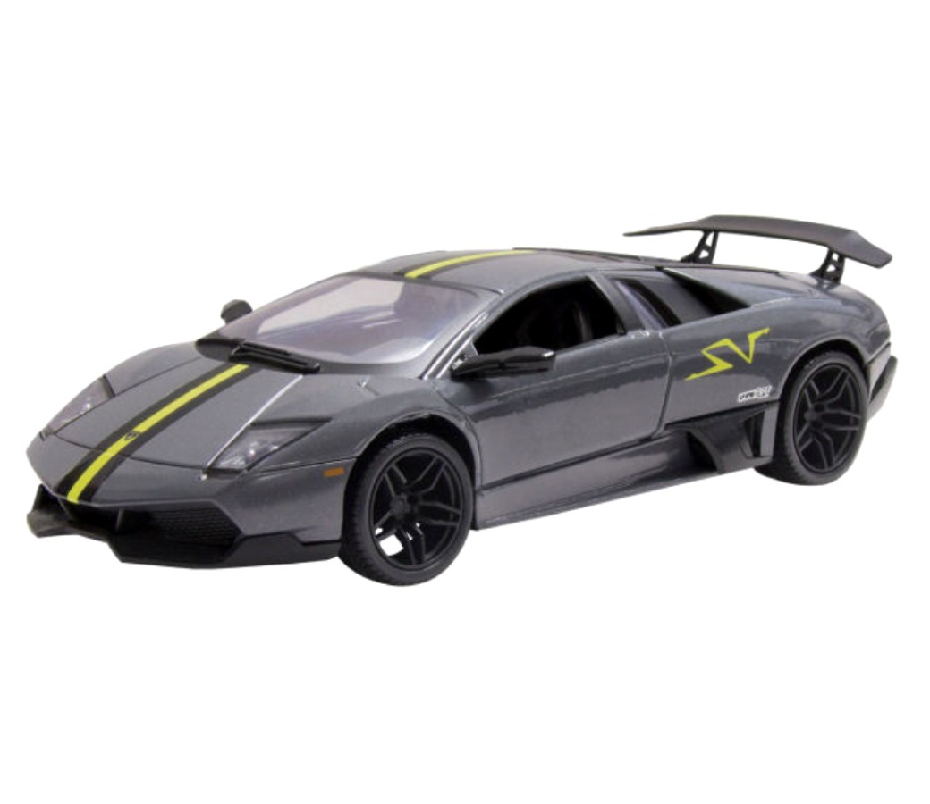 Lamborghini Murcielago: 1:24 Metalic Black MM73350MB