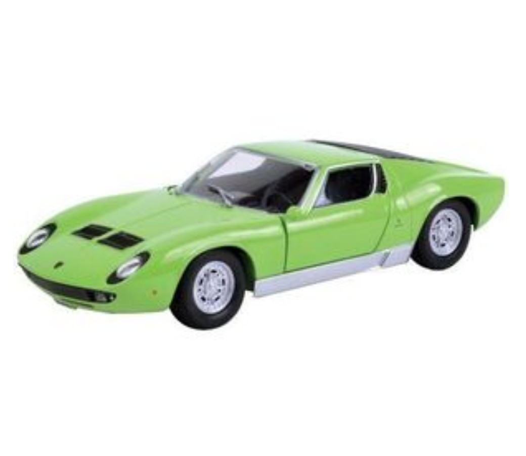 1:24 Lamborghini Miura P 400 S (Light Green) MM73368LG