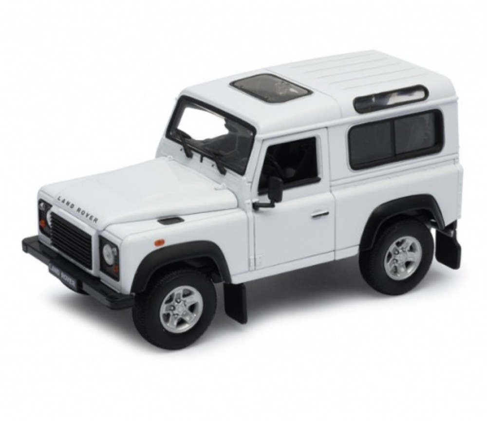 1:24 Land Rover Defender (White) WL22498W
